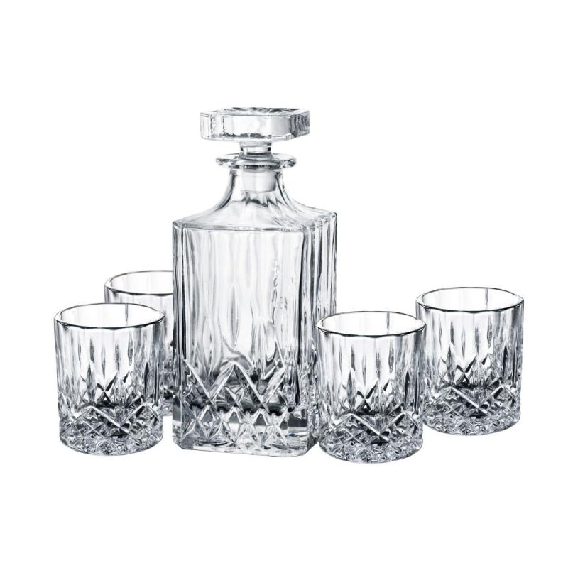 Harvey Decanter Set With Glasses