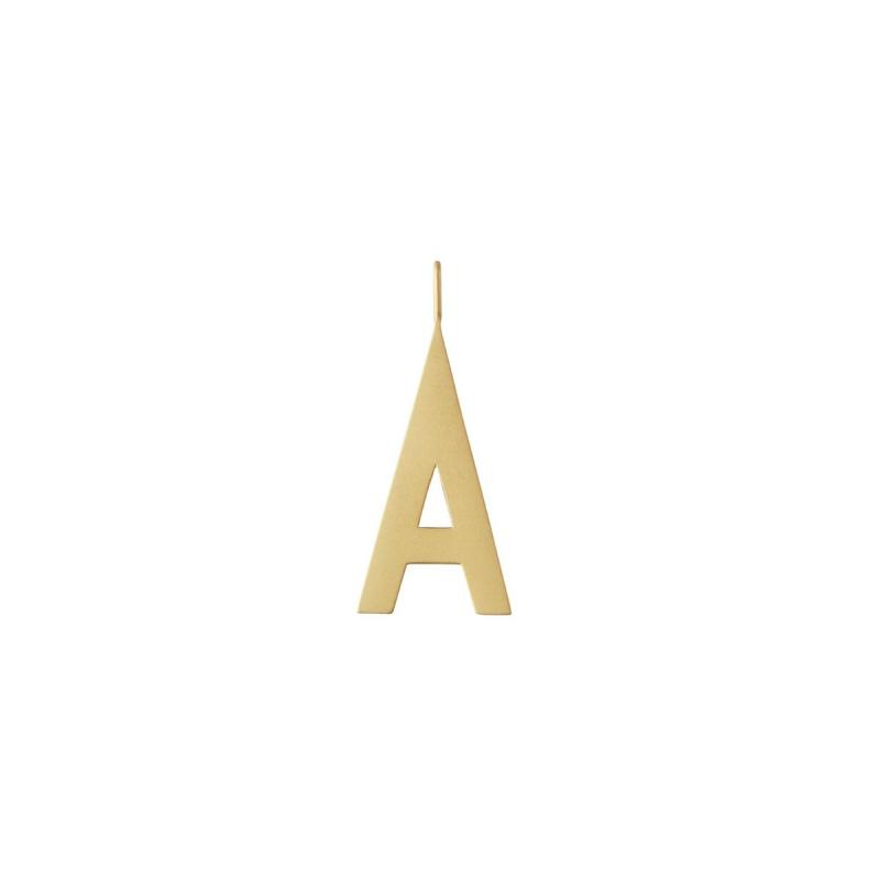 Archetype Letter, 30 mm, Gold