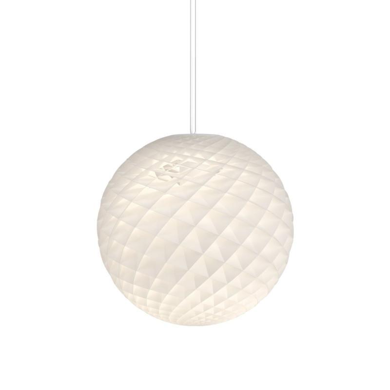 Patera Pendant, Ø60cm, White