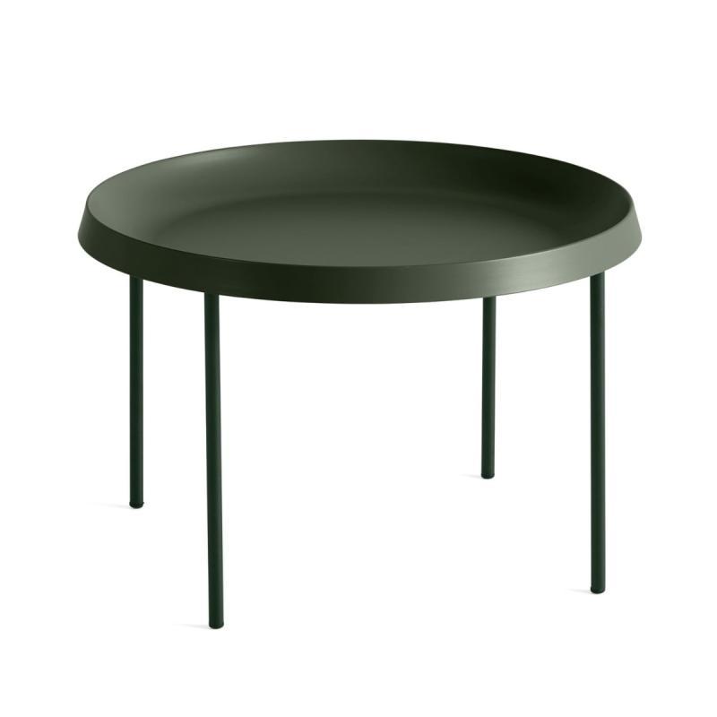 Tulou Coffee Table, Ø55cm, Matt Green