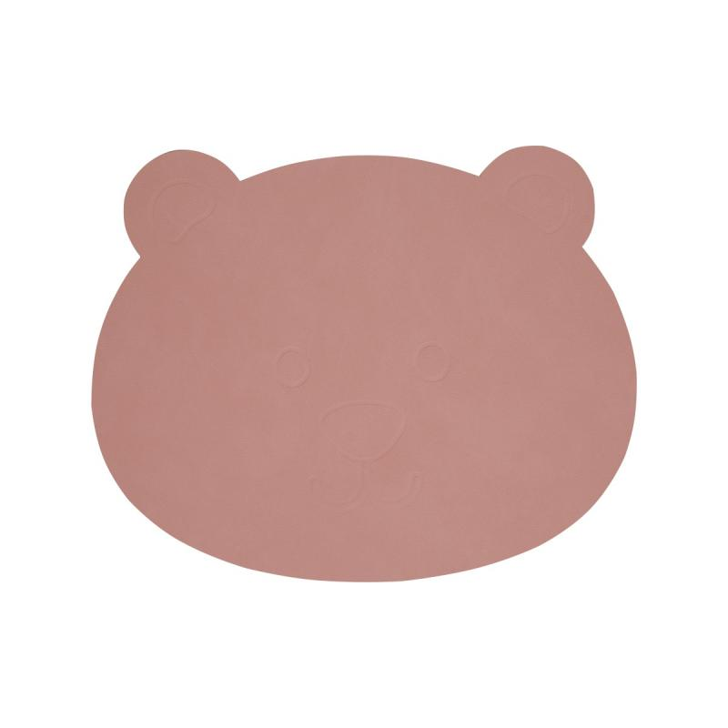 Bear Table Mat, Nupo Leather