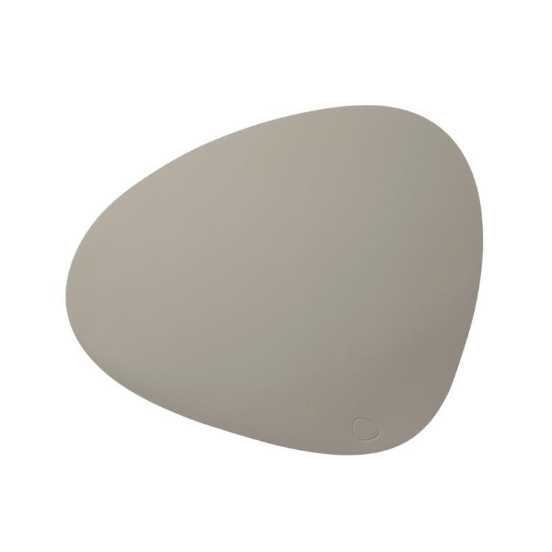 Curve Table Mat, L, Softbuck Leather