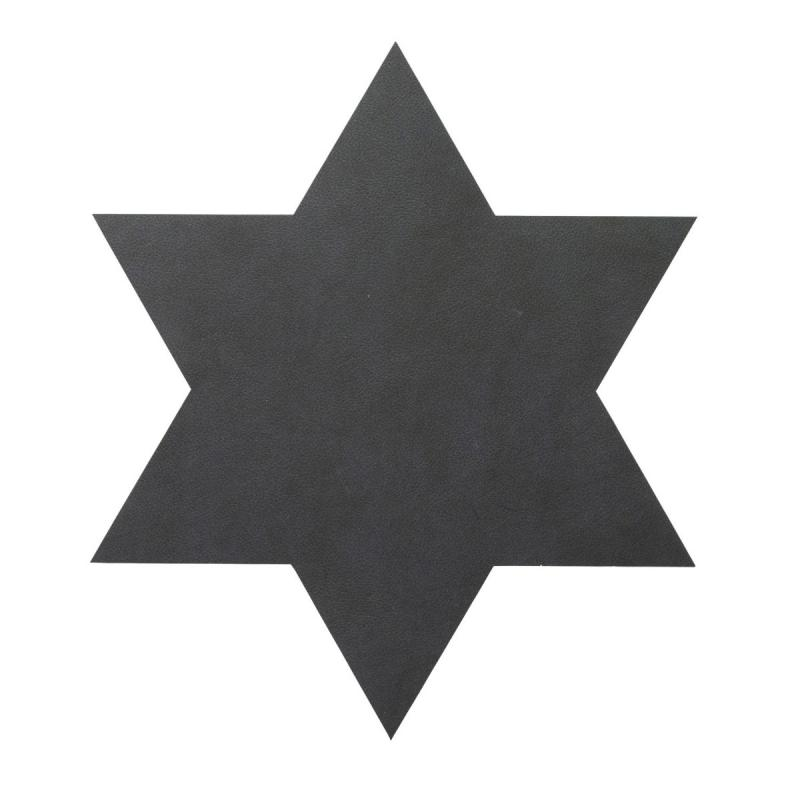Star Table Mat, Nupo Leather