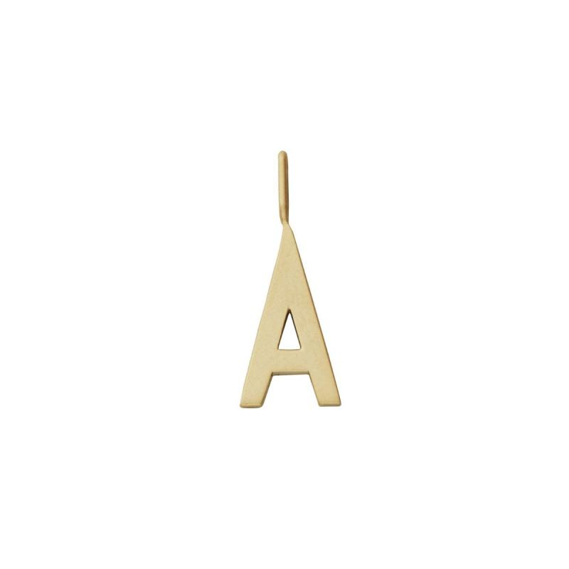 Archetype Letter, 16 mm, Gold