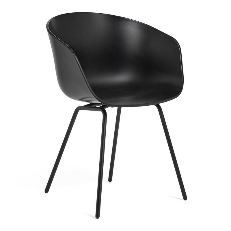 AAC 26 Chair, Black Shell / Black Base