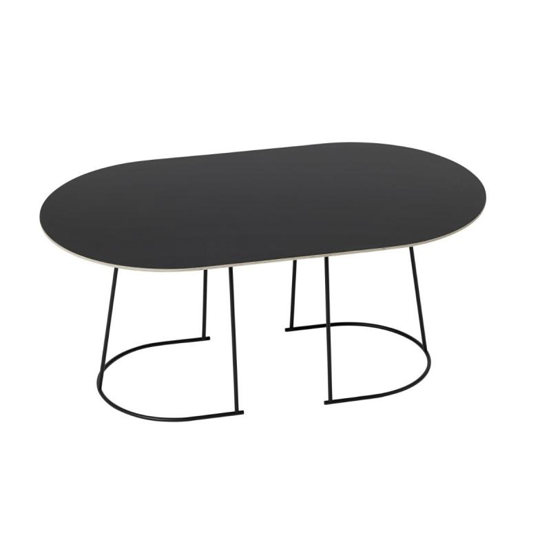 Airy Coffee Table, Medium, Black