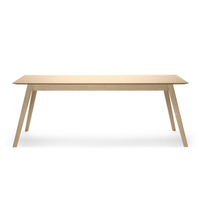 Aise Table, Extendable, 163-219x95cm, Oak
