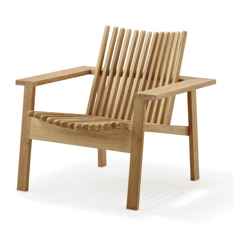 Amaze Lounge Chair, Teak