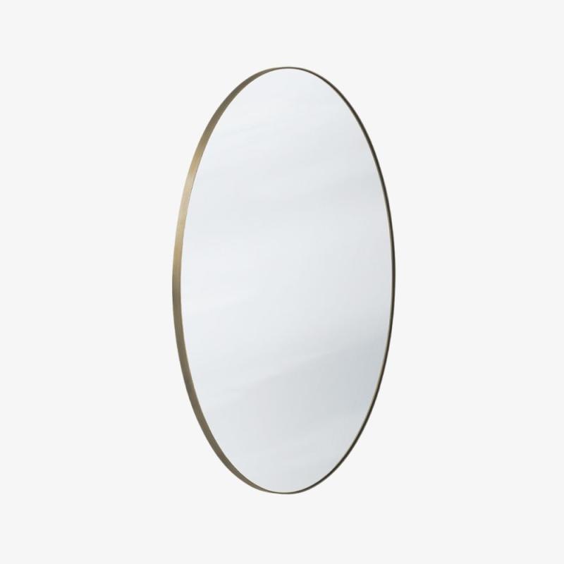Amore Mirror SC56, Ø70 cm, Bronzed Brass