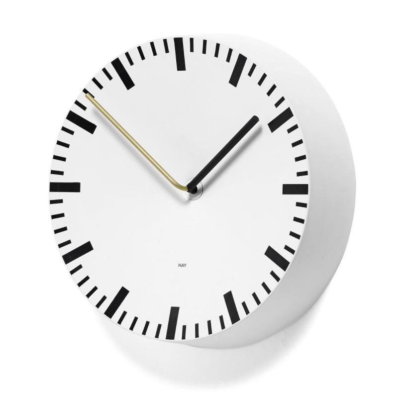 Analog Clock, White