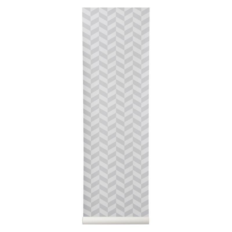 Angle Wallpaper, Grey