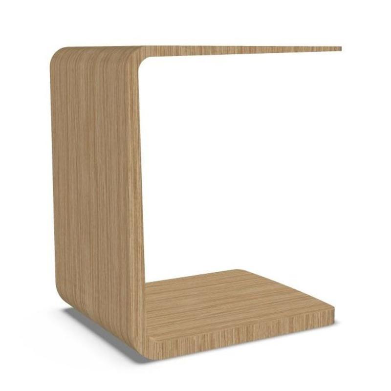 Arc Side Table, H53cm, Oak