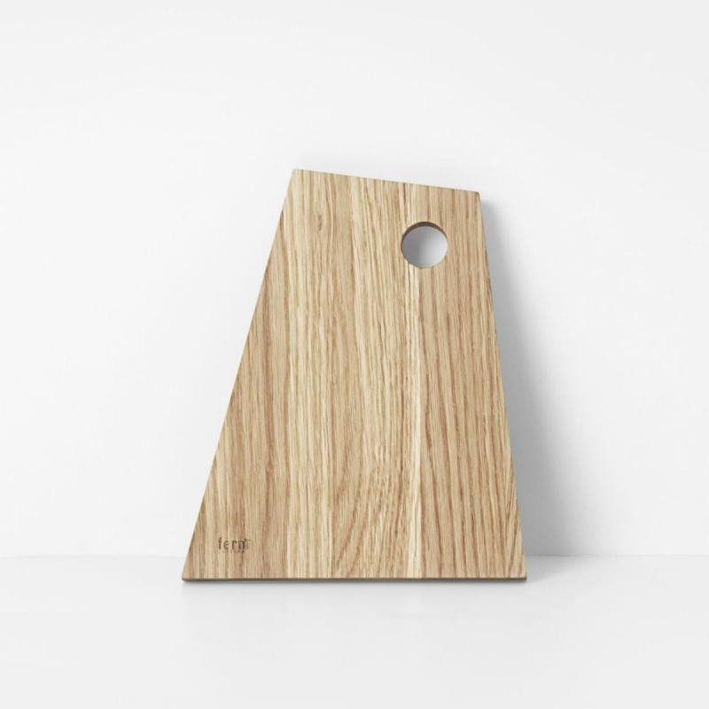 Asymmetric Cutting Board, S, Oiled