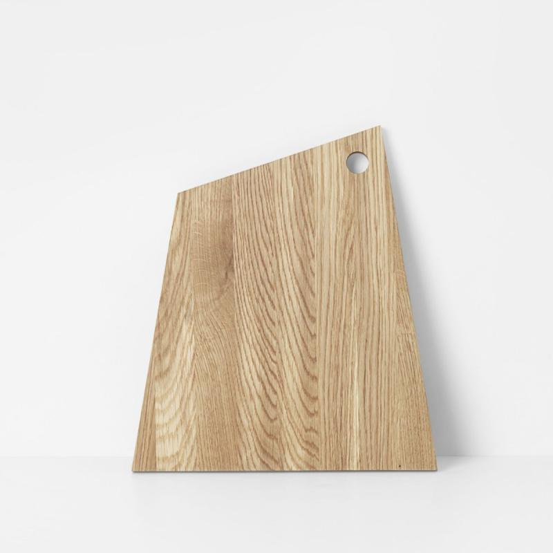 Asymmetric Cutting Board, L, Oiled