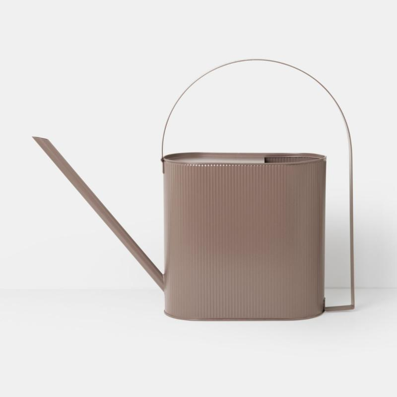 Bau Watering Can, Large, Dusty Rose