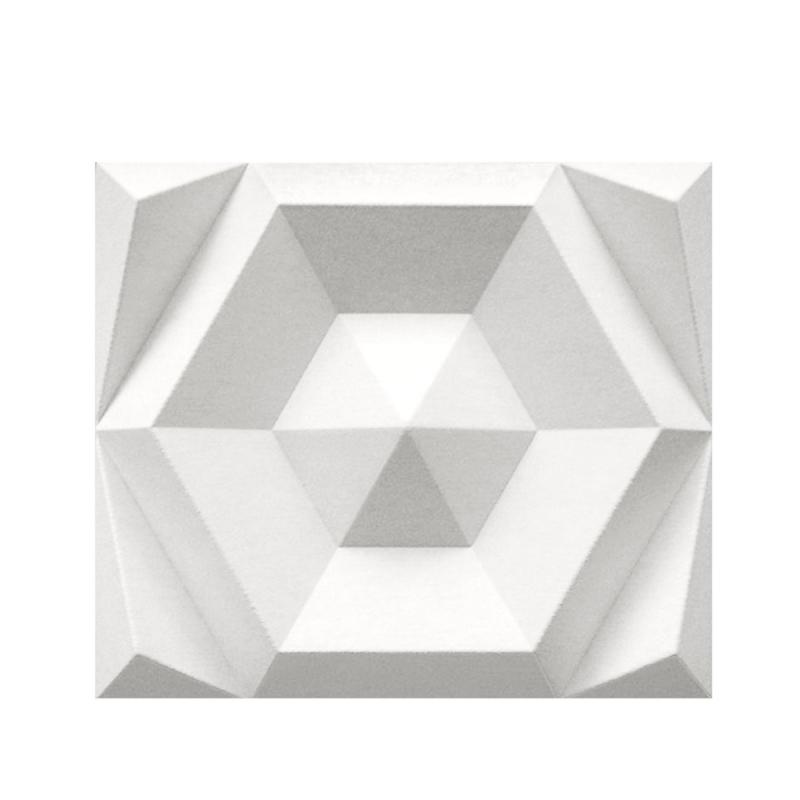 Beehive Rectangular Wall Panel, Off-white