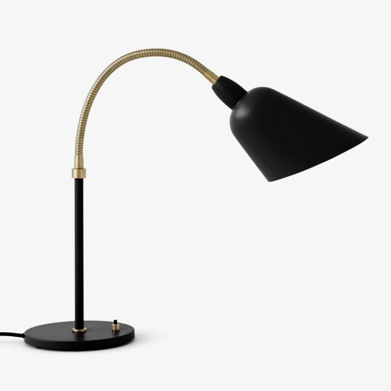 Bellevue Table Lamp AJ8, Black & Brass