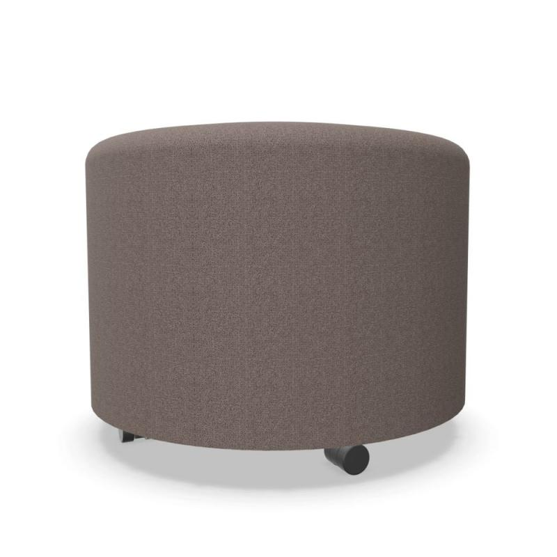 Bend Soft Seating, Rounded Module Ø55cm, Dark Brown