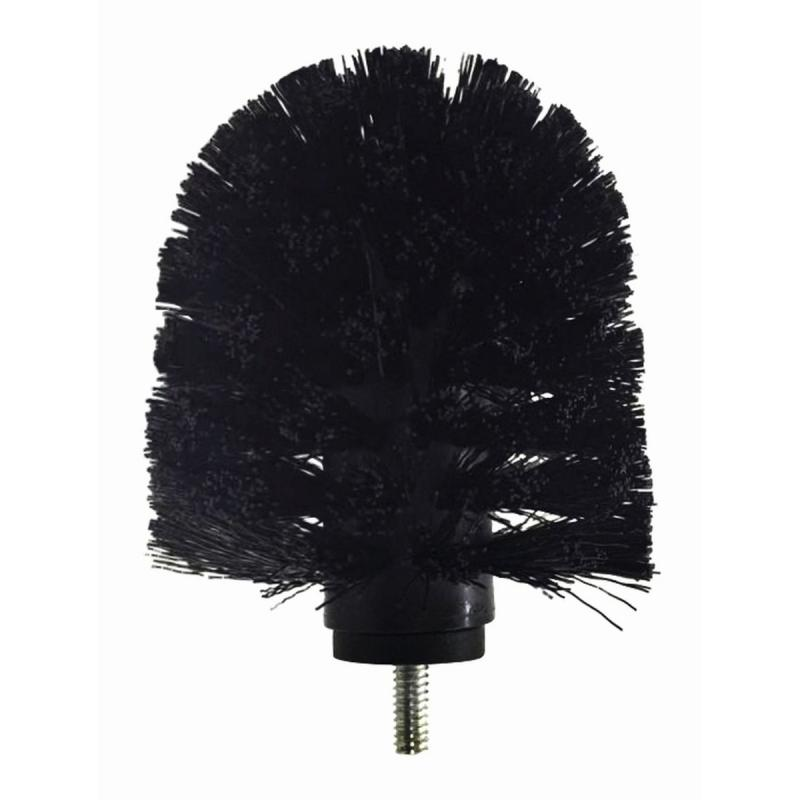 Brush Head For Lotus Toilet Brush, Black