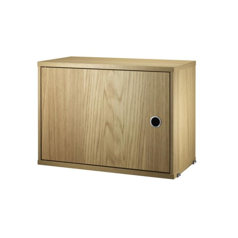 String Cabinet With Swing Door, 58x42x30cm
