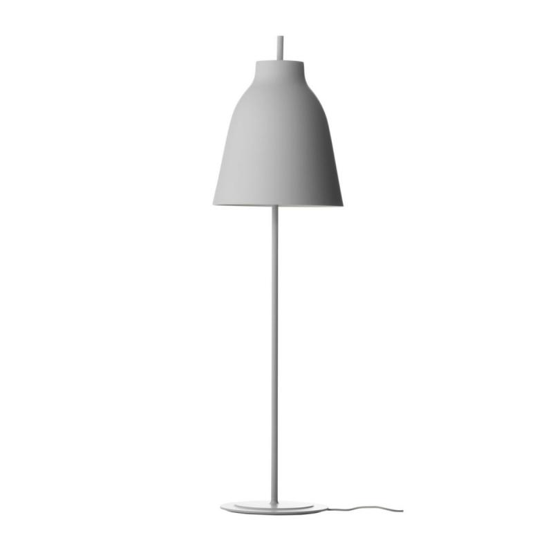 Caravaggio Floor Lamp, Matt Grey