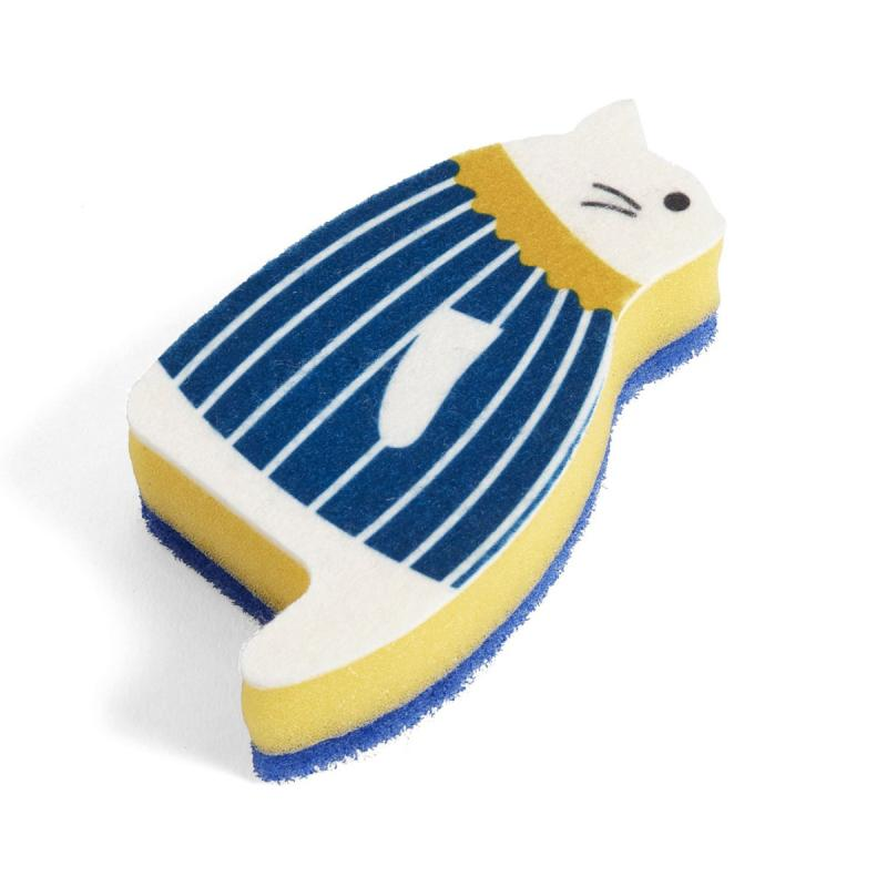Cat Sponge, Blue