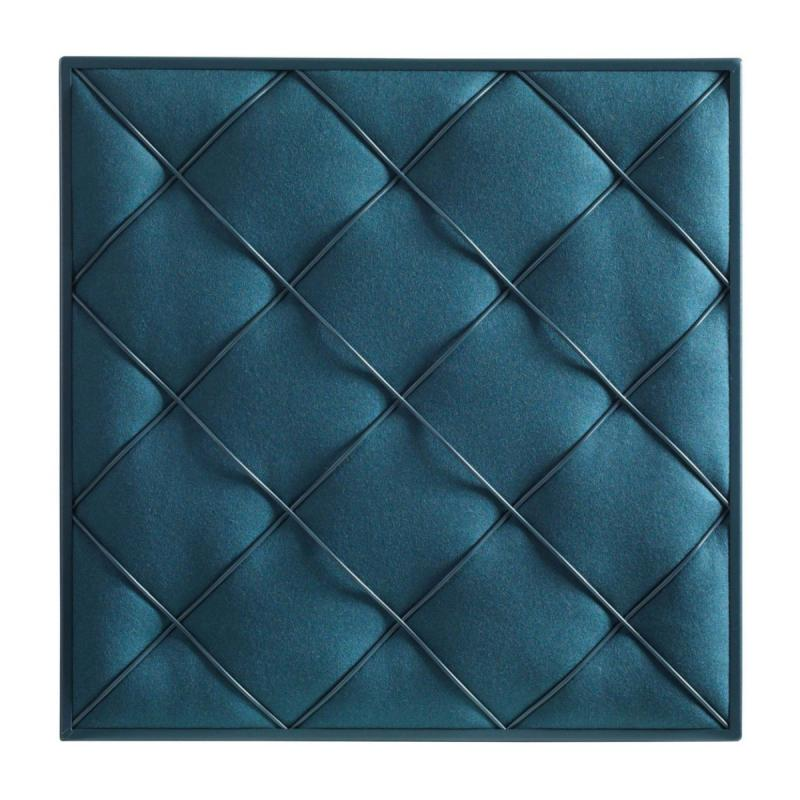 Chesterfield Wall Panel, Dark Blue