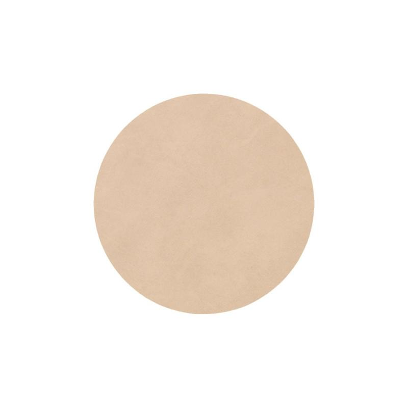 Circle Glass Mat, Nupo Leather