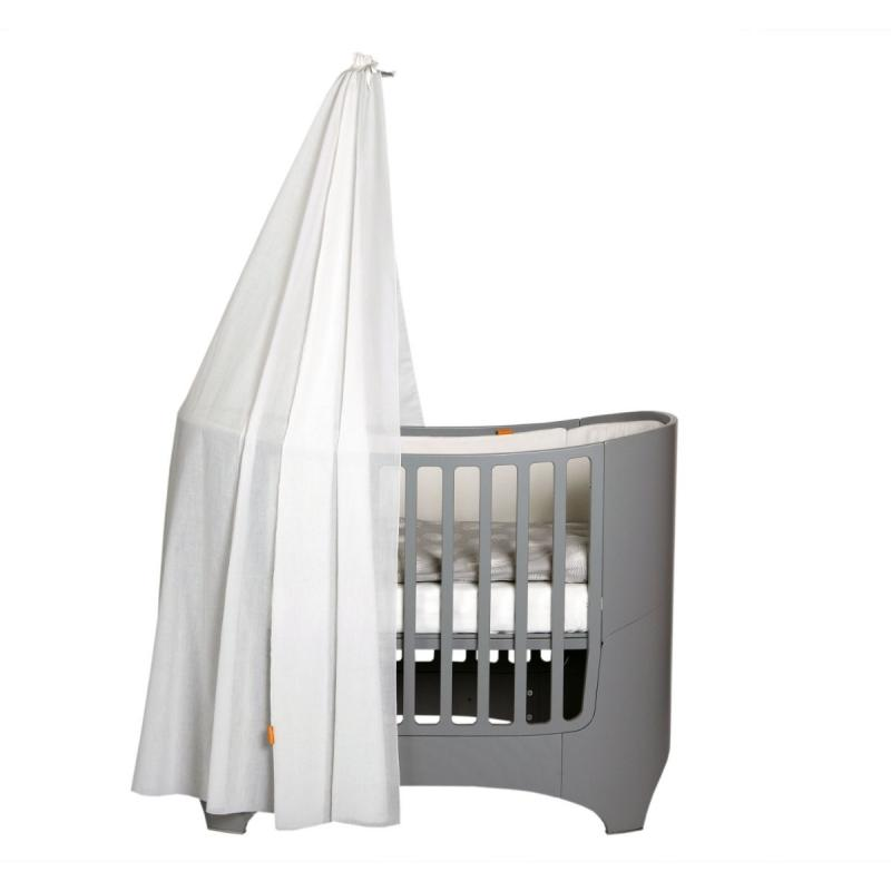 Classic Baby Cot Canopy Stick, Grey