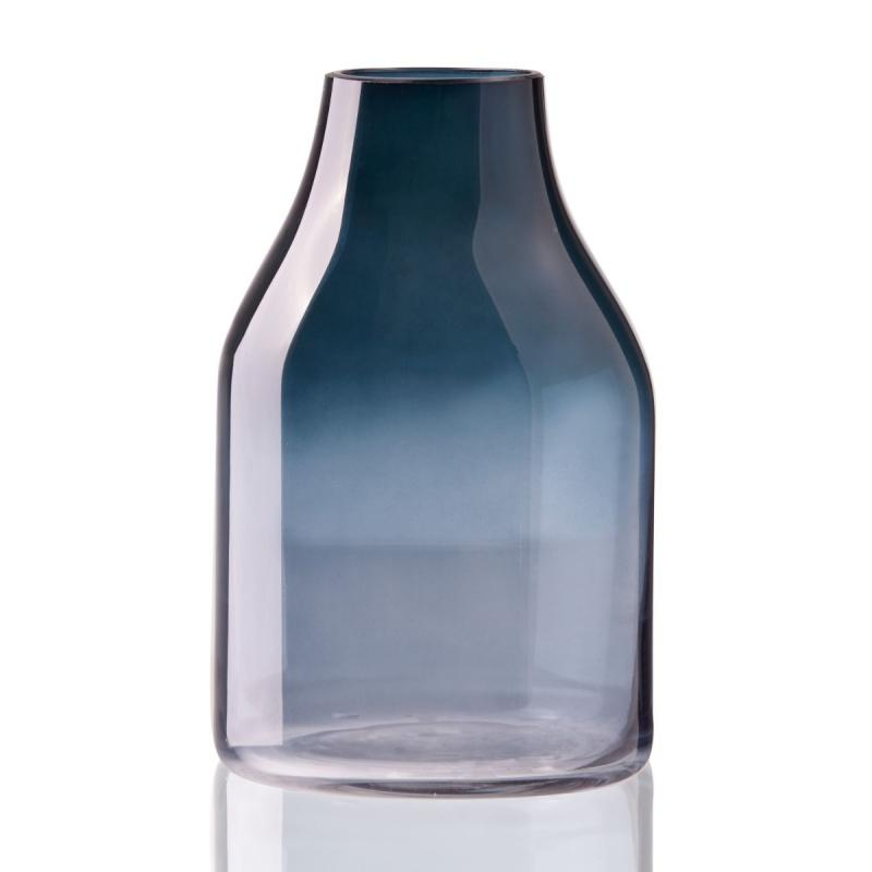 Clear Colors Vase, Blue, Large