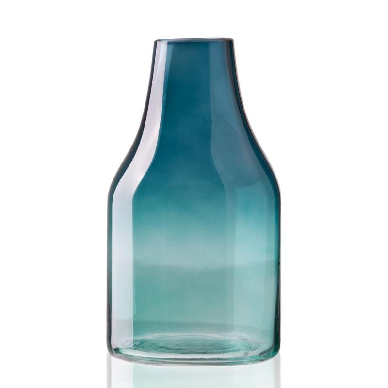 Clear Colors Vase, Green, Medium
