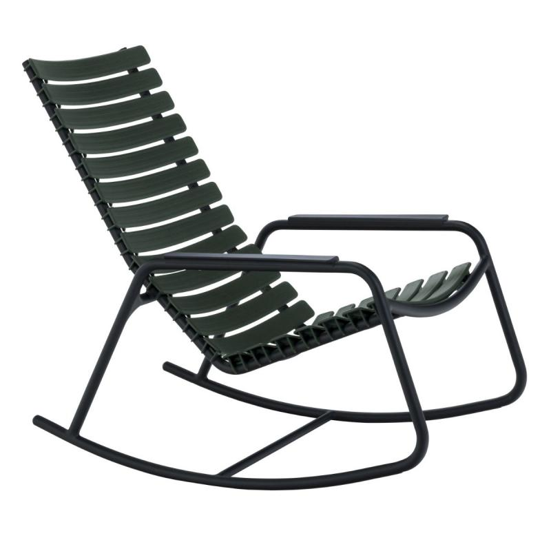 Clips Rocking Chair With Aluminium Armrests