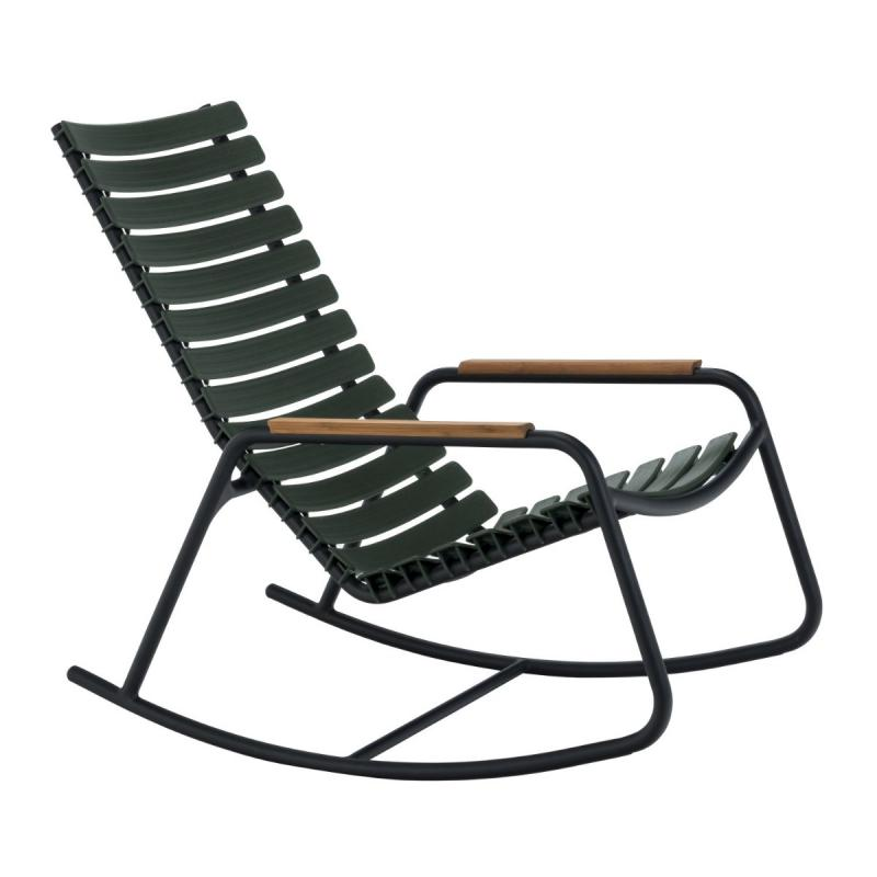 Clips Rocking Chair With Bamboo Armrests