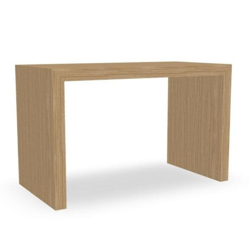 Closed Table, 120x60cm, Oak