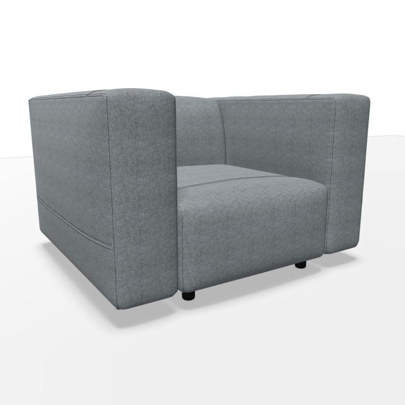 Cloud Armchair, Grey
