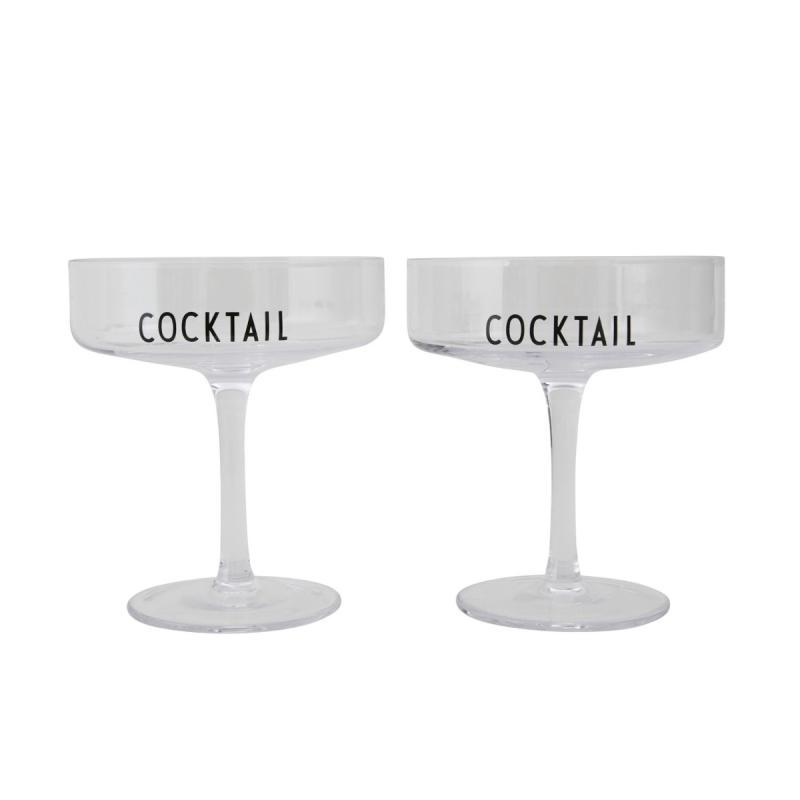 Cocktail Glasses, Set of 2