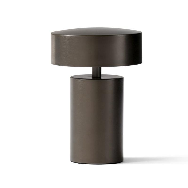 Column Table Lamp, Bronze