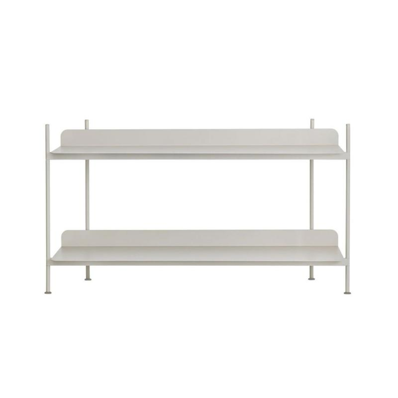 Compile Shelving System, Configuration 1, Grey