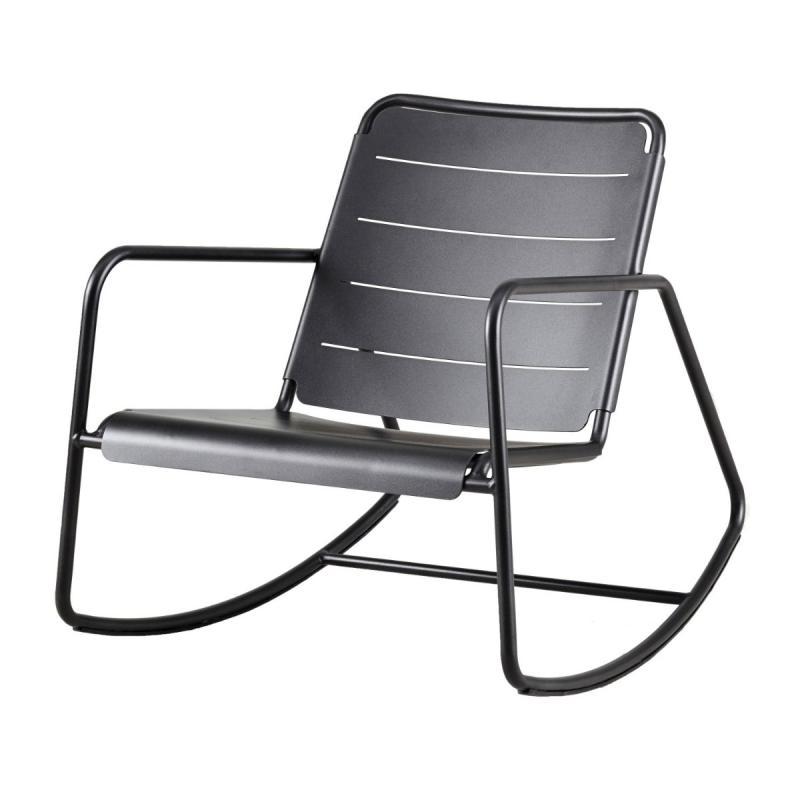 Copenhagen Rocking Chair, Lava Grey