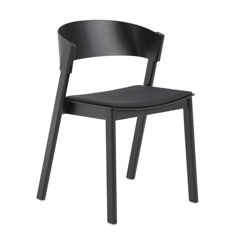 Cover Side Chair With Upholstered Seat