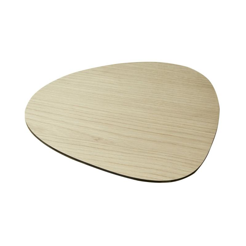 Cut & Serve, Curve, Compact Laminate Ash