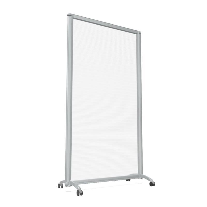 D150 Screen, 82xH152cm, Double Foot With Castors