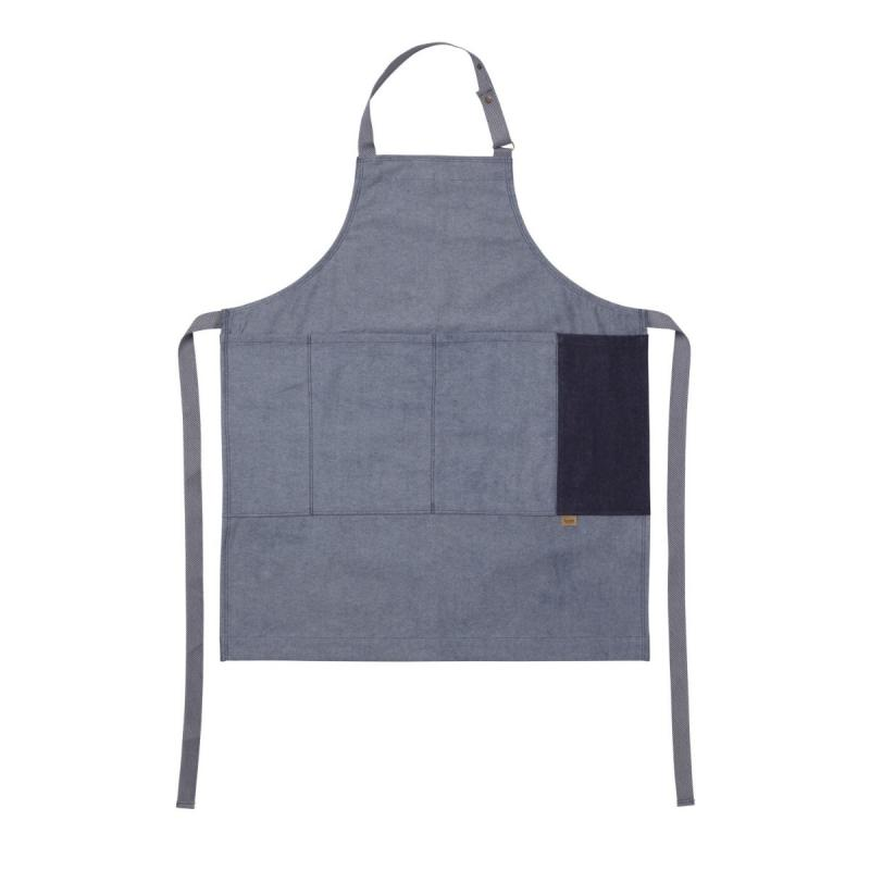 Denim Apron, Blue