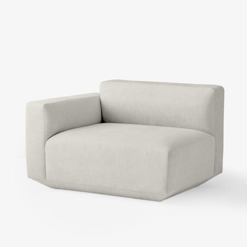 Develius Sofa, Left Armrest Module EV1A, Grey