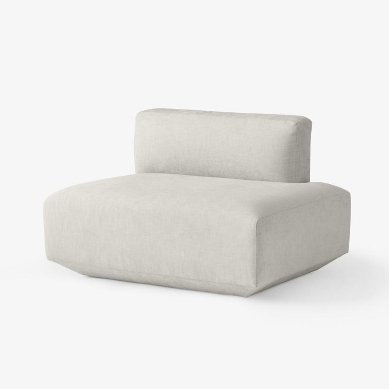 Develius Sofa, Right Open Ended Module EV1G, Grey