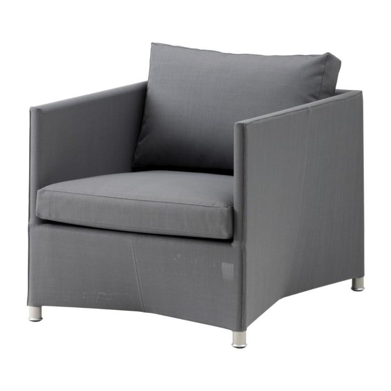 Diamond Lounge Chair With Cushion Set, Tex