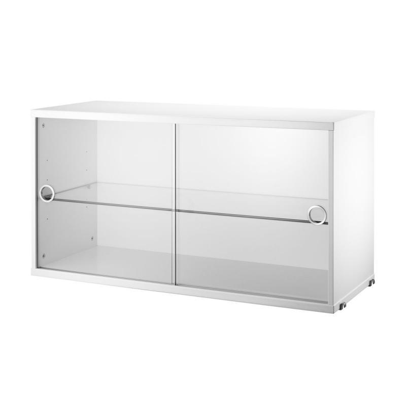 String Display Cabinet, 78x30x42cm