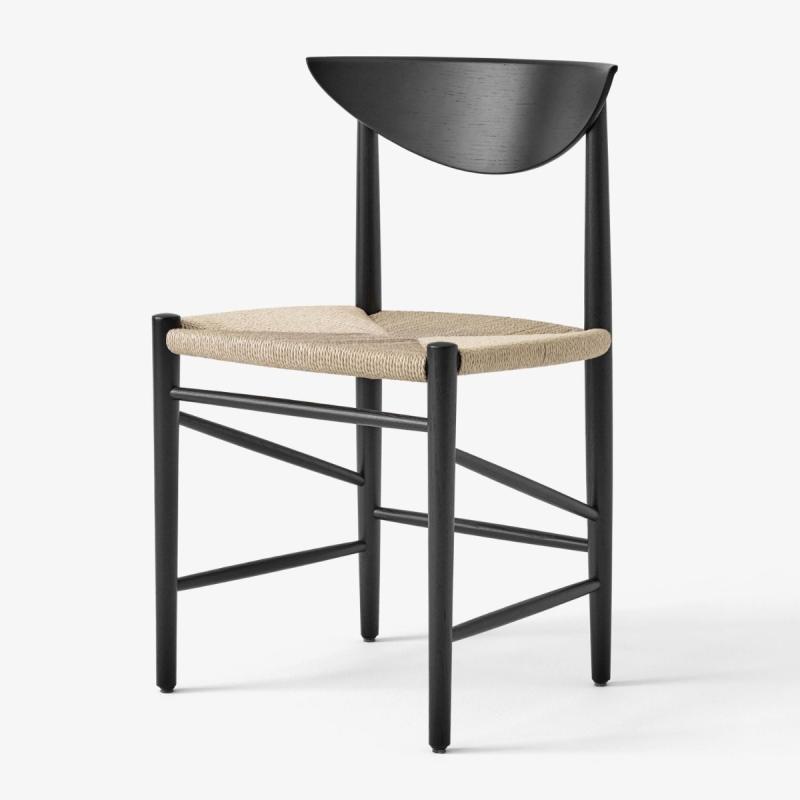 Drawn Chair HM3, Black Oak