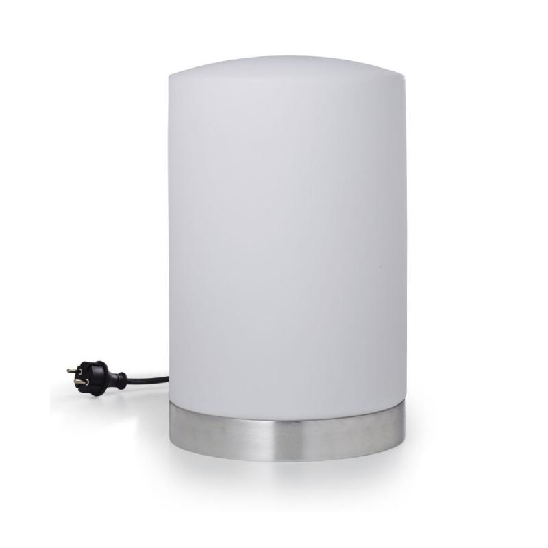 Drum Outdoor Lamp, White