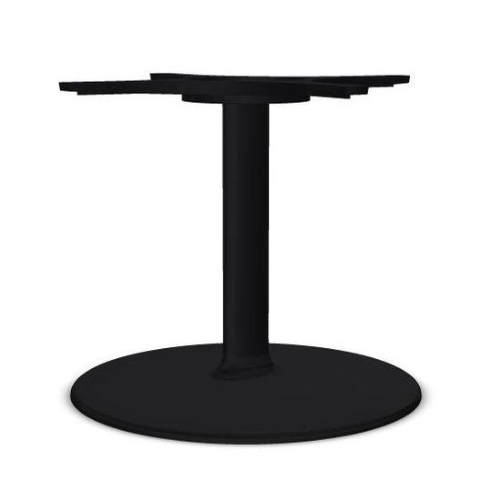 Dual 45 Table Base, H40cm, Black